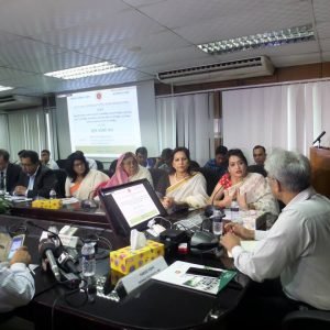 Budget meeting at NBR 2017