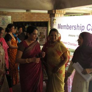 Campaigning for increasing members for BWCCI