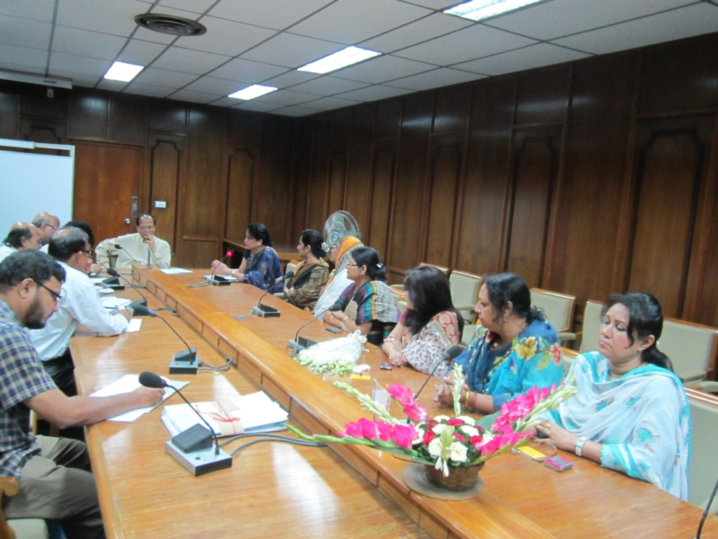 Meeting with Governor of Bangladesh Central Bank for women entrepreneur's SME loan