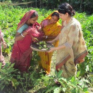 Visitng women entrepreneurs at Shoronkhola