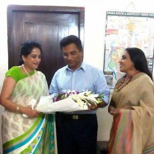 With Dhaka North City Corporation Mayor